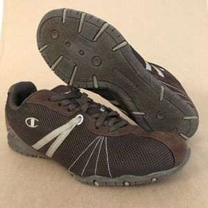 Champion Sport Casual Brown Sneakers Sz 10